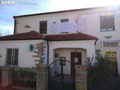 Manifestación por la recuperación de la farmacia de Villar del Río.