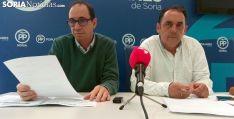 Gustavo Martínez (izda.) y Benito Serrano esta tarde de jueves. /SN