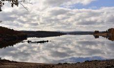 Una imagen del pantano este otoño. /SN