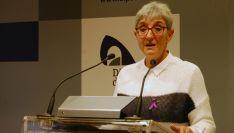 Pilar Delgado, diputada responsable de los servicios sociales de la Diputación.