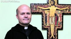 F. Javier Ramírez, director de Cáritas de Osma-Soria. /SN