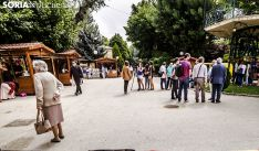 Una feria literaria en la Alameda Cervantes. /SN