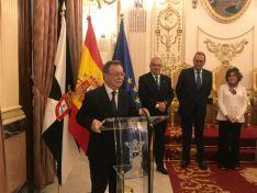 Imágenes de la visita de María del Mar Angulo a Ceuta y Melilla.