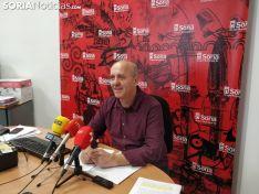 Enrique García en rueda de prensa. SN