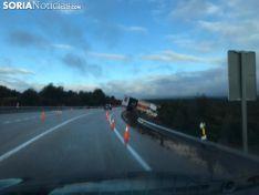 Accidente de un camión en el Temeroso