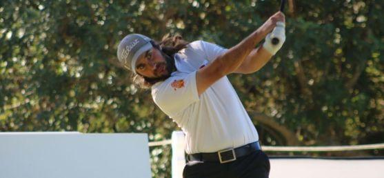 Dani Berná, vencedor en la Gran Final del Circuito Seve Ballesteros en Castellón. PGA