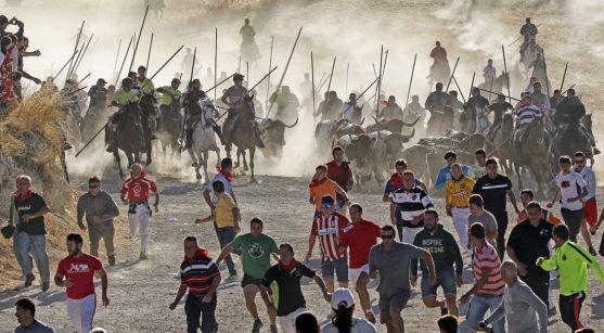Una imagen de estos festejos. /Ayto. Cuéllar-César Quintanilla