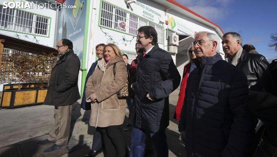 Imagen de la visita del líder popular este viernes. /SN