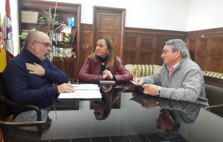 Miguel Latorre, Virginia Barcones y Juan Pascual.