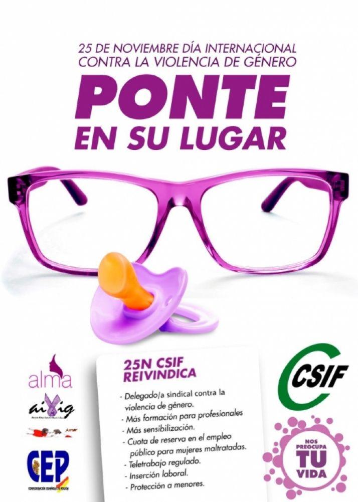 Foto 1 - CSIF lanza la campaña 'Nos preocupa tu vida' para ayudar a las mujeres que sufren violencia de género en el ámbito laboral