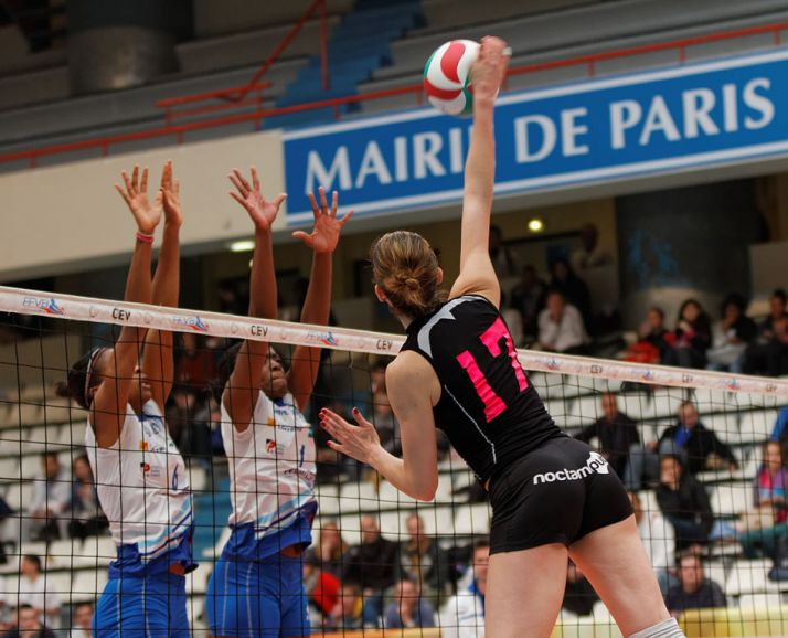 Jugadoras de élite de voleibol/Pierre-Yves Beaudouin