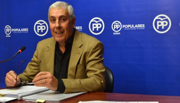 Alberto Rodriguez este miércoles en rueda informativa.