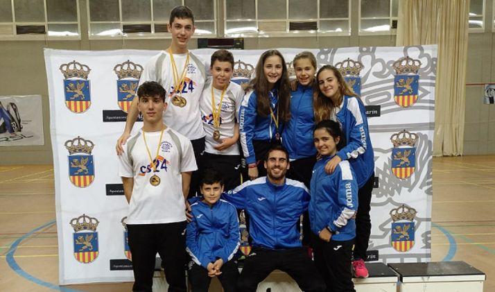 Los jóvenes deportistas tras el torneo. /CBS-CS24