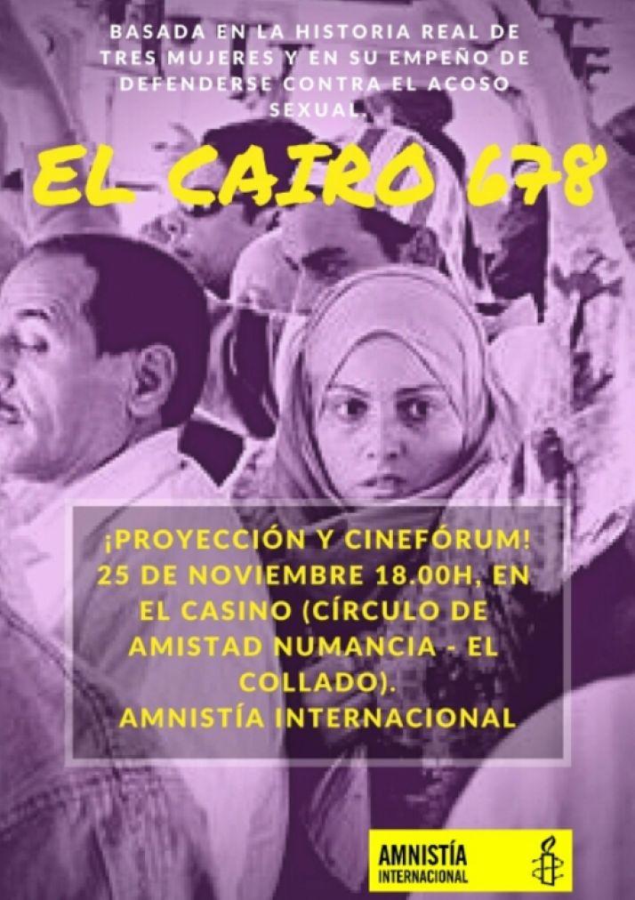 Foto 1 - Proyección de la película 'El Cairo 678' en El Casino, contra la violencia de género