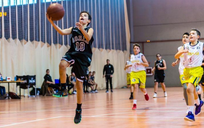 Foto 1 - Mejoría de juego para el Club Soria Baloncesto