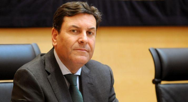 El consejero de Empleo, Carlos Fernández Carriedo.