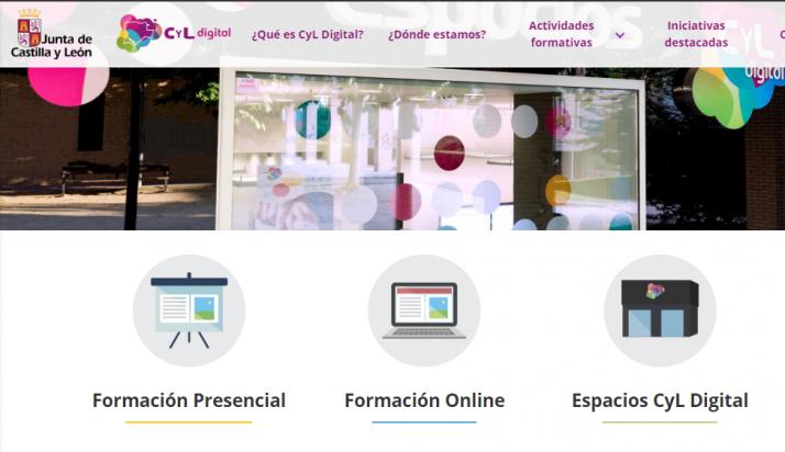 Foto 1 - El programa CyL Digital de la Junta de Castilla y León estrena nueva página web