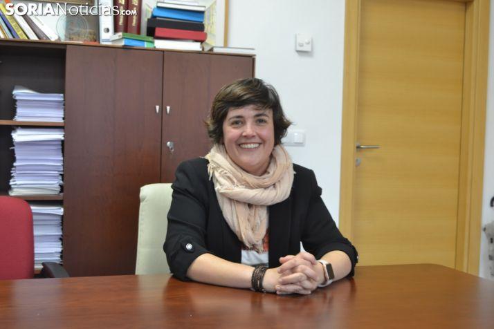 Ana Alegre se sienta en el rincón de Soria Noticias.