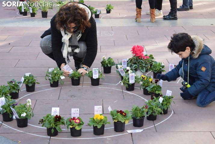 Día Internacional contra la Violencia de Género en Soria.