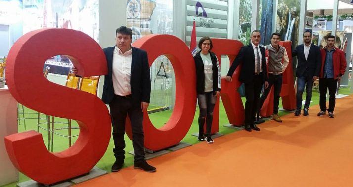 Cedazo (izda.), Pérez, Navas, Mateo, Hernández y Andrés. /Dip.