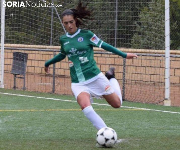 Elisa Ayuso, lateral zurda del CD San José. /CDSJ