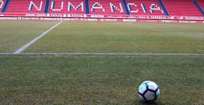 Foto 1 - El Numancia rendirá homenaje a Soria por ser 'Ciudad Europea del Deporte 2019'