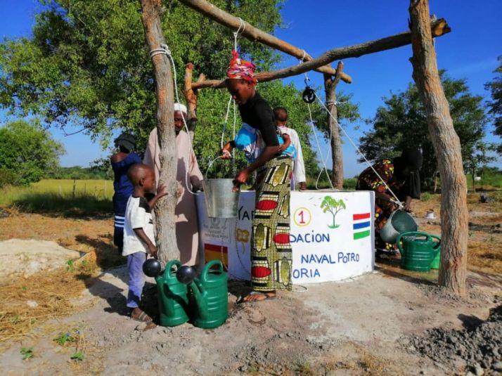 Foto 1 - La Fundación Pedro Navalpotro financia cuatro pozos de agua en Zambia