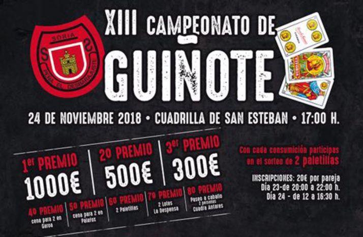 Foto 1 - La Peña El Desbarajuste convoca su XIII Campeonato de Guiñote con 1.800 € en premios