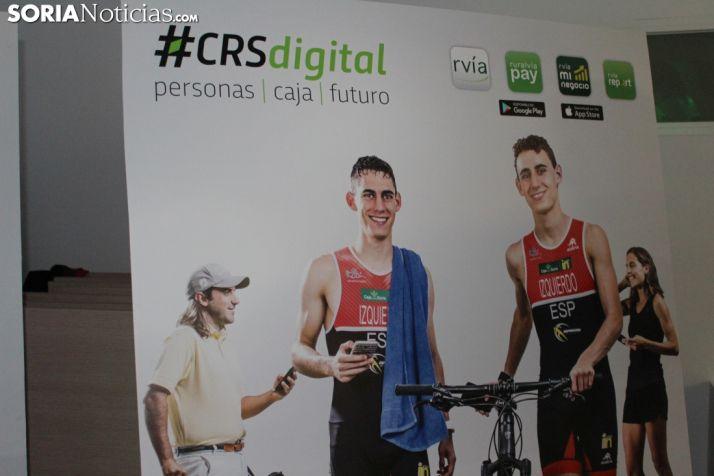 Presentación de la campaña CRS Digital de Caja Rural. SN