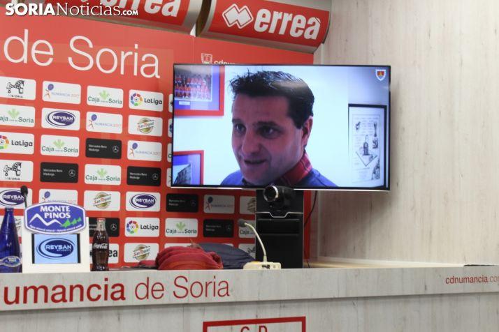 Foto 2 - César Palacios renueva su contrato con el CD Numancia hasta 2023