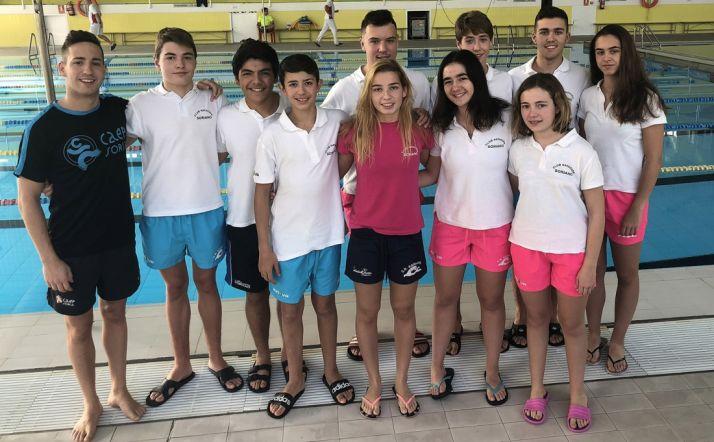 Foto 1 - El Club Natación Soriano nada por la permanencia