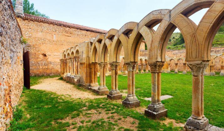 Los arcos de San Juan de Duero, uno de los emblemas del románico soriano. /SN