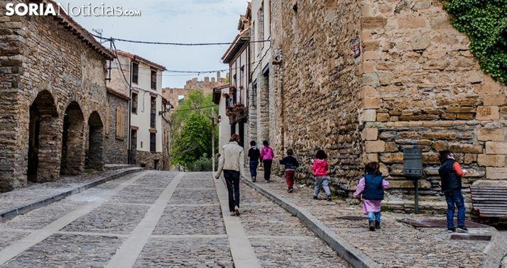 Una imagen de una calle en Yanguas. /SN