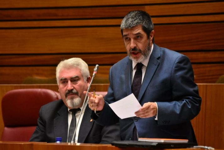 Manuel Mitadiel, procurador de Ciudadanos.