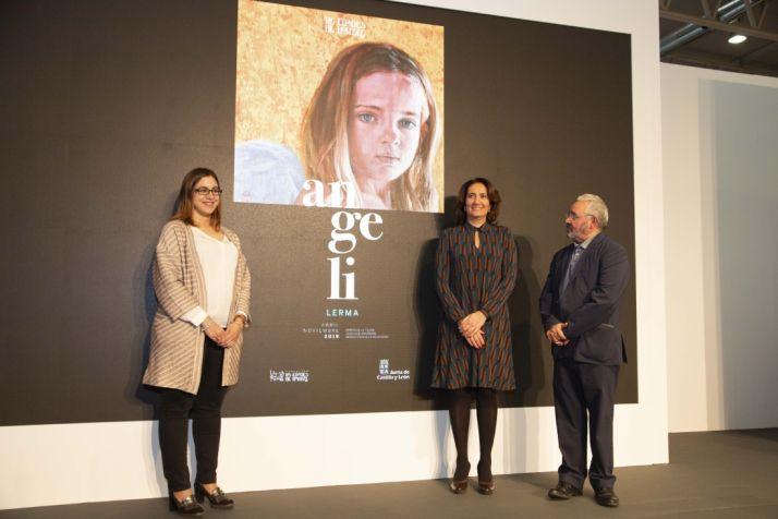 La Junta y la Fundación Las Edades del Hombre presentan la imagen promocional de 'Angeli', la nueva exposición en Lerma en 2019