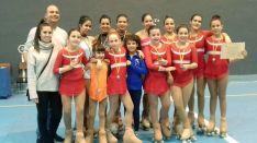 9 podios para el Patín Soria en Valladolid