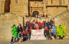 Una imagen de la jornada en la pedanía de Arcos de Jalón.