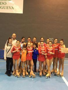 Foto 2 - 9 podios para el Patín Soria en Valladolid
