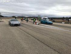 Se ha disputado en el Aeródromo de Garray la ½ milla, 804 metros. SN