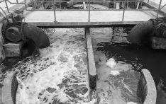 Imagen de una instalación de aguas residuales.