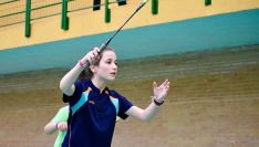 La joven jugadora soriana Ana Peñaranda. /CBS-CS24