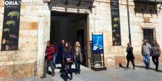 Imagen de la entrada a la oficina de turismo de El Burgo de Osma. /SN