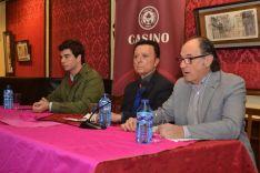 Foto 4 - El torero Ortega Cano afirma en Soria que respeta y no comparte las corrientes antitaurinas