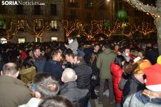 Una imagen del ambiente en el centro de la capital esta Nochevieja. /SN