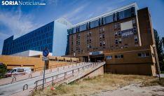 Una de las dos rampas de acceso al hospital. /SN