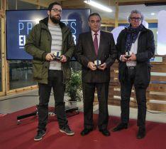 Los tres ganadores de este año.