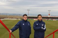 Pablo Ayuso y José Alejandro Huerta realizan sus sesiones semanales en la Ciudad del Fútbol.