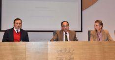 David Caballero, Manuel López y José Antonio Lucas. /Jta.