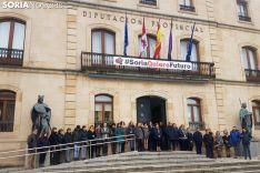 Concentración de repulsa en el Palacio Provincial. /SN