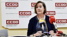 María Jesús Sotillos, en una comparecencia de prensa. /SN